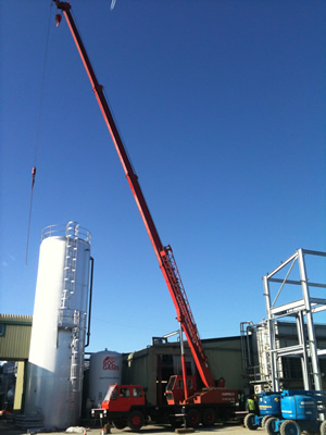 Campbells Crane Hire first image