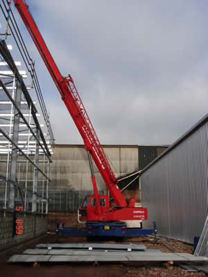 Campbells Crane Hire third image
