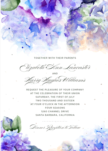 Forever Fiances Invitations fourth image