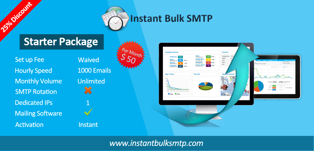 Instant Bulk smtp first image