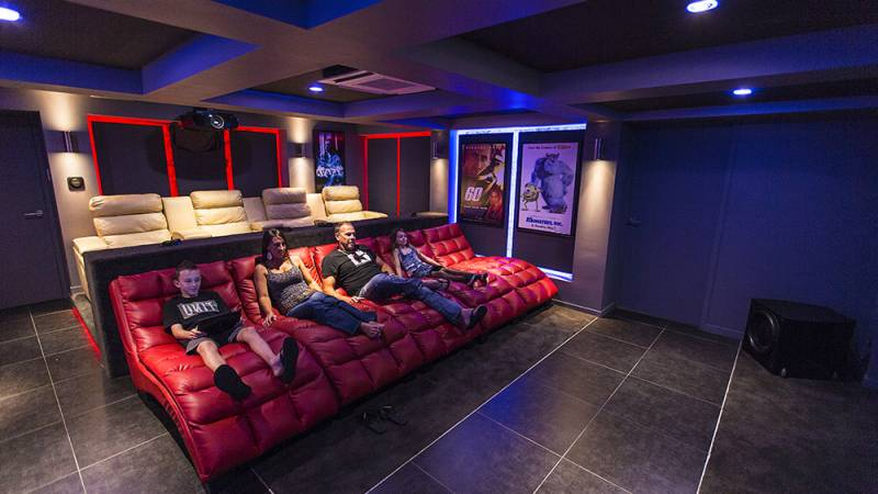 Digital Residence - Home Automation, Cinema, Theatre, Projectors Brisbane third image