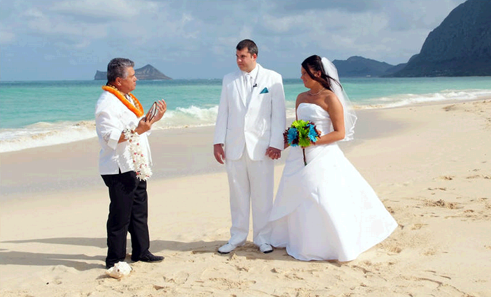 Oahu wedding  first image