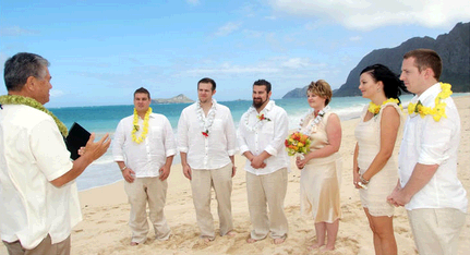Oahu wedding  second image