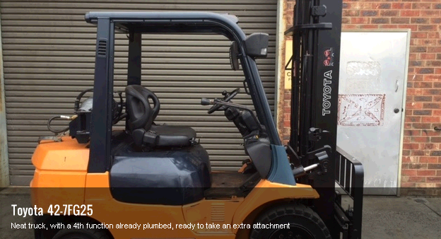 HSA Forklifts - Used Electric Forklifts Melbourne third image