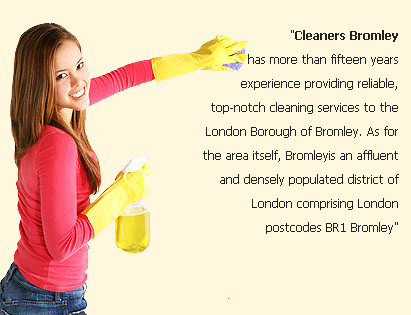 Cleaners Bromley first image