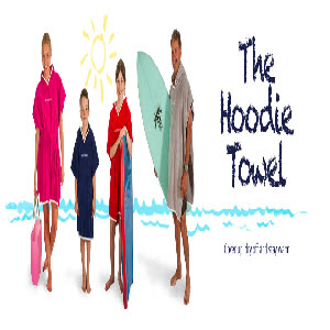 Nautical Mile Hooded Towels first image