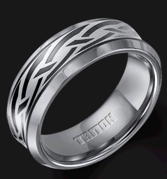 Tungsten Rings second image