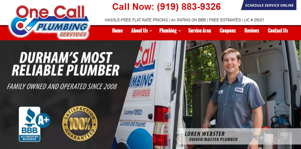 One Call Plumbing first image