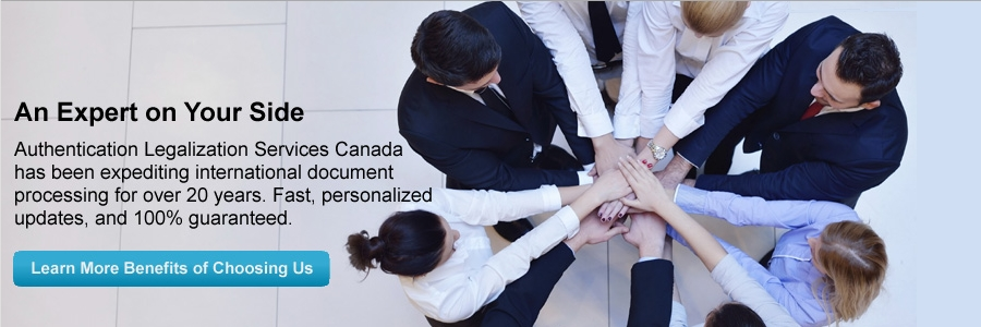 Authentication Legalization Services Canada first image