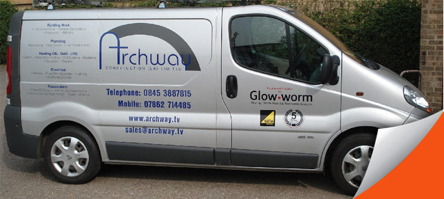 Archway Plumbers Peterborough first image
