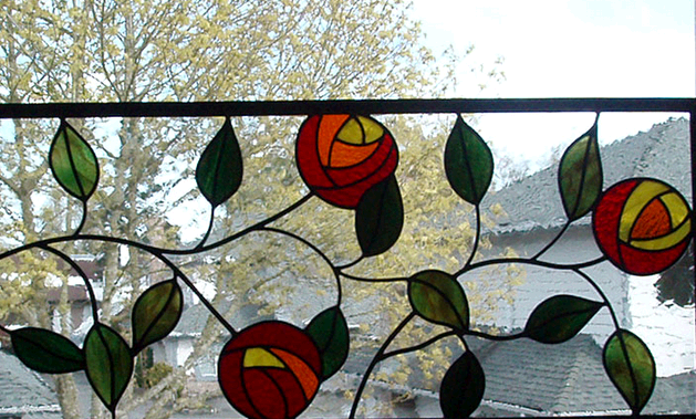 Ambleside Stained Glass fifth image