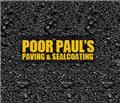 Poor Paul's Paving logo