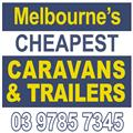 Melbourne's Cheapest Caravan and Trailers logo